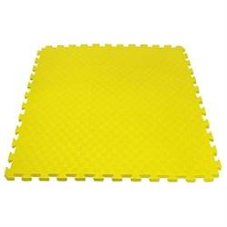 "Будо-мат (татами) BABYPUZZ (1 плита 100x100x4см, 1кв.м./уп) ""Желтый"" - фото 528384"