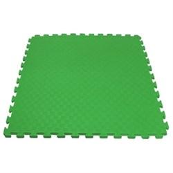 "Будо-мат (татами) BABYPUZZ (1 плита 100x100x4см, 1кв.м./уп) ""Зеленый"" - фото 528386"