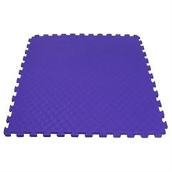 "Будо-мат (татами) BABYPUZZ (1 плита 100x100x4см, 1кв.м./уп) ""Фиолетовый"" - фото 528390"