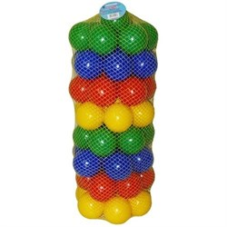 Набор шариков 56шт, 8см ТМ. - фото 5486