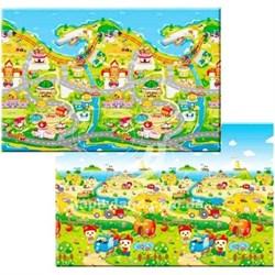Детский игровой развивающий коврик ComFlor (двухсторонний) Fruit Farm (210 x 140 x 1,3) - фото 5679