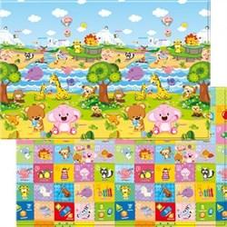 Детский игровой развивающий коврик ComFlor (двухсторонний) Pingko and Friends (210 x 140 x 1,3) - фото 5680