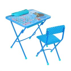 "Набор мебели ""Азбука4:Маша и Медведь"": стол, пенал,стул - фото 608203"