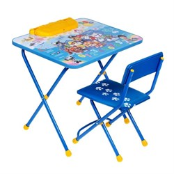 """Набор мебели """"Щенячий патруль"""" стол, стул мягкий - фото 608211"""