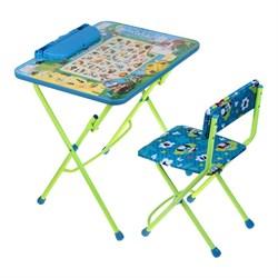 """Набор мебели """"Веселая азбука"""": стол, стул мягкий, пенал - фото 608223"""