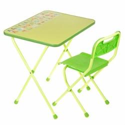 """Набор мебели """"Алина"""" складной, цвет салатовый - фото 608233"""