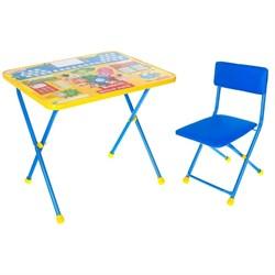 """Набор детской мебели """"Фиксики. Азбука"""" складной, цвет синий - фото 608240"""