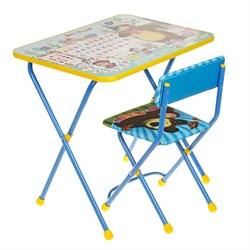 """Набор мебели """"Азбука 2. Маша и Медведь"""": стол, стул мягкий - фото 608243"""