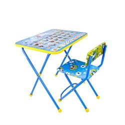 """Набор детской мебели """"Познайка. Азбука"""" складной, цвета стула МИКС - фото 608253"""