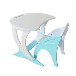 """Набор мебели регулируемый """"Парус"""": стол, стул. Цвет бирюзовый жемчуг - фото 608268"""