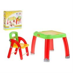 Набор детской мебели: стол для творчества со стулом - фото 608284