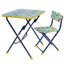 Набор детской мебели «Никки. Азбука» складной: стол, мягкий стул, МИКС - фото 608292