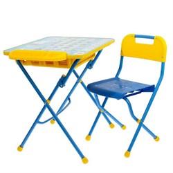 """Набор детской мебели """"Азбука"""" складной: стол, стул и пенал - фото 608298"""