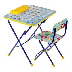 """Набор мебели """"Никки. Азбука"""": стол, пенал, стул мягкий складной, цвета МИКС - фото 608338"""