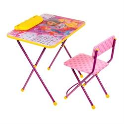 """Набор детской мебели """"Винкс: Азбука 2"""" складной, цвет розовый - фото 608421"""