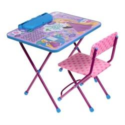 """Набор мебели """"Рапунцель"""":стол, пенал,стул мягкий - фото 608433"""