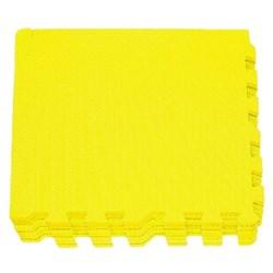 """Коврик-пазл Экополимеры (9 плит 30x30x0,9см, 0,81кв.м./уп) """"Желтый"""" - фото 631266"""