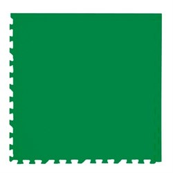 """Коврик-пазл Экополимеры (4 плиты 60x60x0,9см, 1,44кв.м./уп) """"Зеленый"""" - фото 631275"""