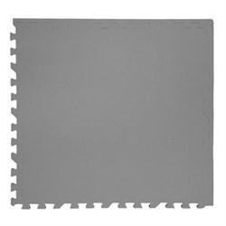 """Коврик-пазл Экополимеры (4 плиты 60x60x0,9см, 1,44кв.м./уп) """"Серый"""" - фото 631280"""