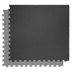 """Коврик-пазл Экополимеры (4 плиты 60x60x0,9см, 1,44кв.м./уп) """"Черно-серый"""" - фото 631282"""