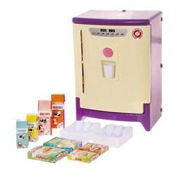 Холодильник с набором продуктов, цвета МИКС - фото 631447