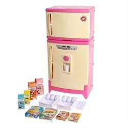 Холодильник двухкамерный с набором продуктов, цвета МИКС - фото 631451