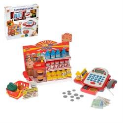 Игровой набор «Супермаркет»: касса с витриной и корзинкой - фото 631570