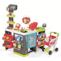 Супермаркет MAXI Market с тележкой, со световыми и звуковыми эффектами, 50 аксессуаров - фото 631658
