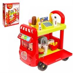 """Игровой модуль """"Магазин на колёсах"""" с аксессуарами, световые и звуковые эффекты, 37 предметов - фото 631716"""