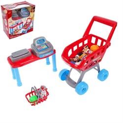 """Игровой набор """"Супермаркет"""", 17 предметов - фото 631730"""
