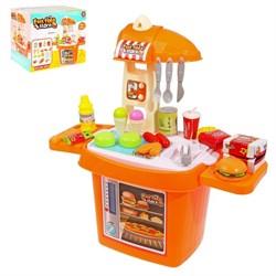 """Игровой модуль """"Магазин быстрого питания"""" с аксессуарами, 18 предметов - фото 631763"""