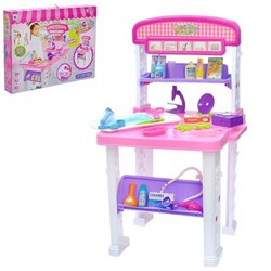"""Игровой набор """"Столик медсестры"""", 2 варианта сборки, 23 предмета, высота 70 см - фото 631855"""