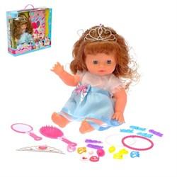 """Кукла """"Маша"""" в платье с аксессуарами, МИКС - фото 632123"""