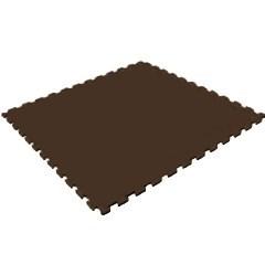 Мягкий пол для домашнего фитнеса, 50х50х1 см, коричневый - фото 646080
