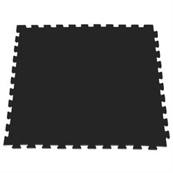 Модульное покрытие для тренажерных залов, 100х100х2 см, черный - фото 646109