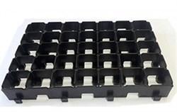 Газонная решетка  ERFOLG  дорога безопасности черная - фото 688150