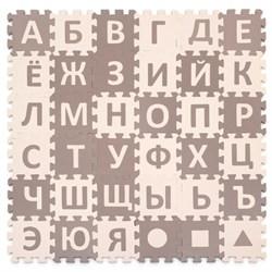 """Игровой коврик-пазл Funkids 6 """"Алфавит-3"""" с русским алфавитом толщина 15 мм (36 частей) - серия NT - фото 692869"""
