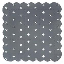 """Игровой коврик-пазл Funkids12   """"Бебиарт-12""""  толщина 15 мм (9 частей + бортики) серия NT - фото 692870"""