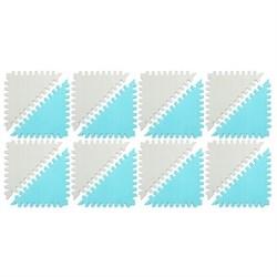 """Funkids  """"Треугольники"""" Игровой коврик-пазл 12"""" толщина 15 мм (16 частей) - серия TS - фото 692902"""