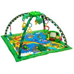 """Развивающий коврик для новорожденного Funkids """"Delux Step Up Gym"""", Jungle - фото 695154"""