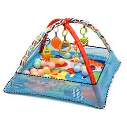 """Развивающий коврик для новорожденного Funkids """"Play Ground Gym"""" - фото 695193"""