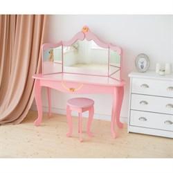 """Комод для девочек и табурет """"Моя принцесса"""" - фото 697624"""