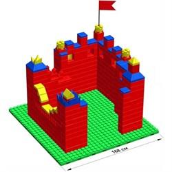 """Большой конструктор LK """"Крепость"""" GB10"""" M на платформе 28х28, для детей 5-12 лет - фото 697923"""