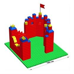 """Большой конструктор LK """"Крепость"""" GB10"""" L на платформе 32х35, для детей 5-12 лет - фото 697933"""