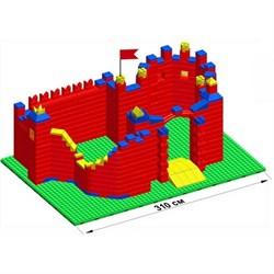 """Большой конструктор LK """"Замок"""" GB10"""" L на платформе 52х35, для детей 5-12 лет - фото 697963"""
