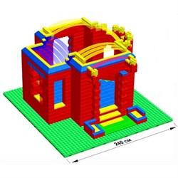 "Большой конструктор LK ""Дворец"" GB10"" M на платформе 40х56, для детей 5-12 лет - фото 698014"