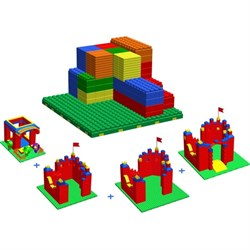 """Набор конструкторов  GB7,5"""" для детского сада для 3-4 лет - фото 698037"""