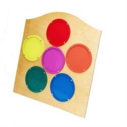 """Тактильная панель """"Цветной калейдоскоп"""" - фото 698341"""