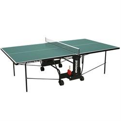 Всепогодный Теннисный стол Donic Outdoor Roller 600 зеленый - фото 700799