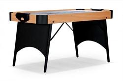 Игровой стол - аэрохоккей «Rider» 5 ф Wk (светло-черный, складной) - фото 702012